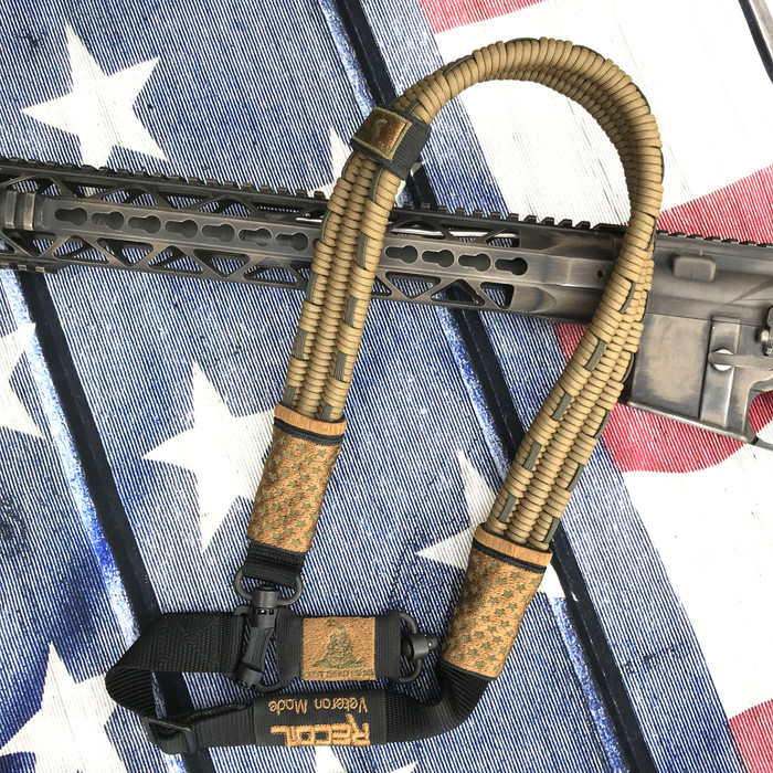 FDE/ OD GREEN US FLAG SLING