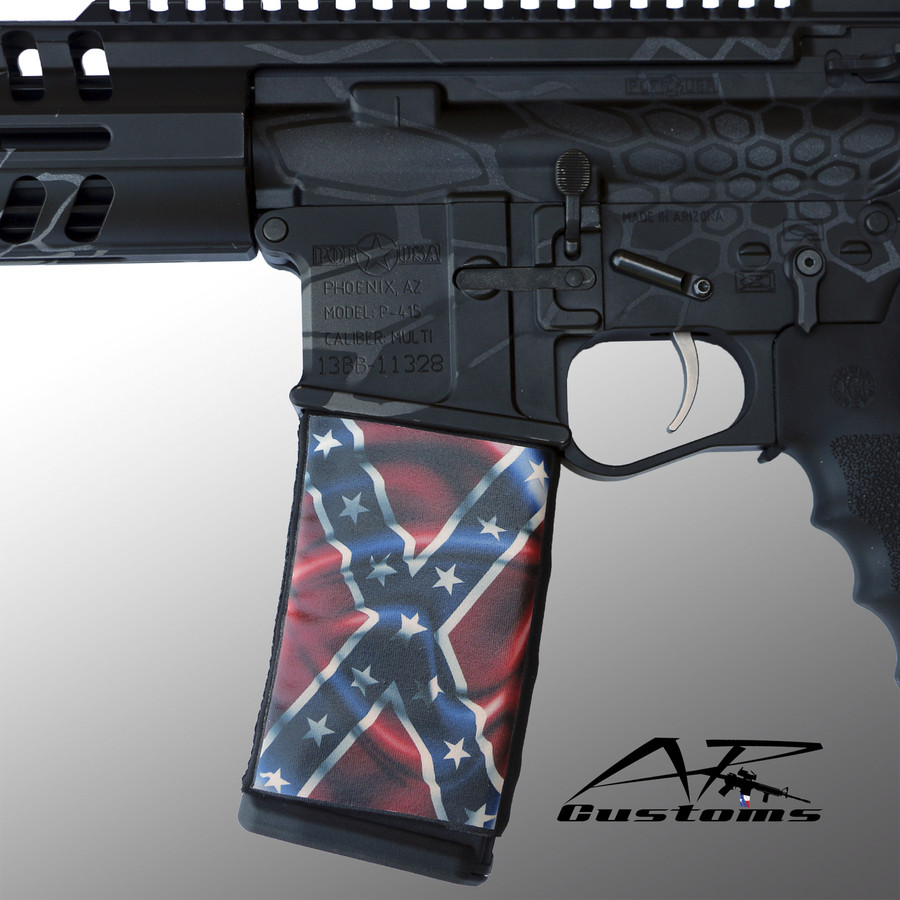 WAVY REBEL FLAG