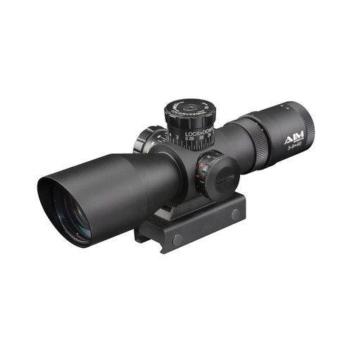 Titan Series 3-9X40mm Dual Illuminated Scope w/ MIL-DOT RETICLE*