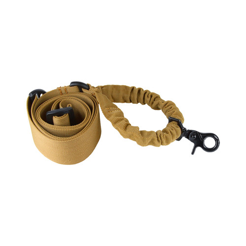 TAN ONE POINT BUNGEE RIFLE SLING 1*