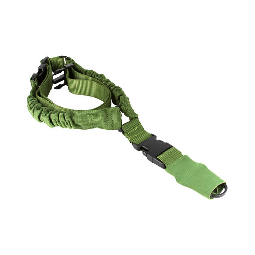 GREEN ONE POINT BUNGEE RIFLE SLING*