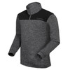 FUNKTION GOLF Thermal Performance Pullover Sweater - Heather Grey /  Black