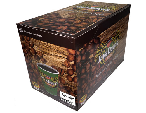 Hawaiian Hazelnut / 24ct Box / Single Cup Coffee