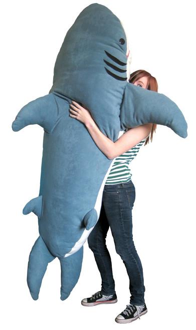 Chumbuddy Shark Plush Toy And Sleeping Bag for Adult and Kids