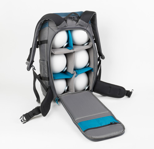 Standard Reference Sphere Set in a Backpack