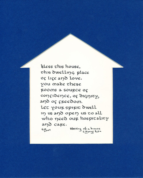 CALLIGRAPHY THEME: House Blessing