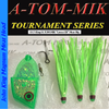 "017-King/A-TOM-MIK ""UV Green"" Meat Rig"