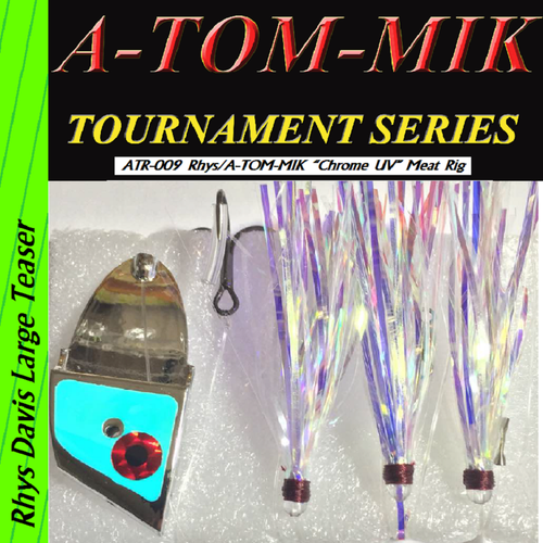 "ATR-009 Rhys/A-TOM-MIK ""Chrome UV"" Meat Rig"