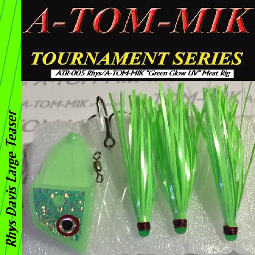 """ATR-005 Rhys/A-TOM-MIK """"Green Glow UV"""" Meat Rig"""
