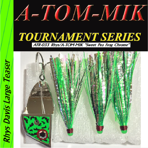 "ATR-033 Rhys/A-TOM-MIK ""Sweet Pea Frog Chrome"" Meat Rig"