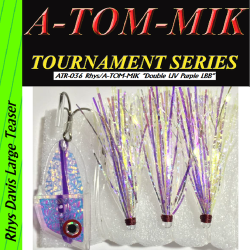"ATR-036 Rhys/A-TOM-MIK ""Double UV Purple LBB"" Meat Rig"