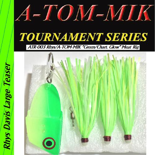 "ATR-003 Rhys/A-TOM-MIK ""Green/Chart. Glow"" Meat Rig"