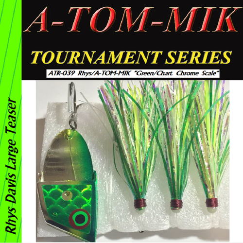 "ATR-039 Rhys/A-TOM-MIK ""Green/Chart. Chrome Scale"" Meat Rig"