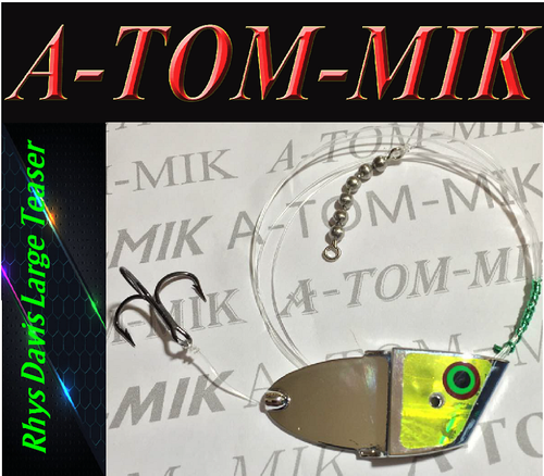 "Custom Rhys Davis Large Teaser ""Chrome Dew"" Rigged"