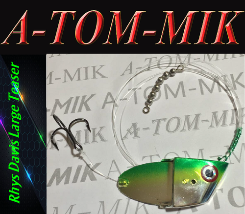"Custom Rhys Davis Large Teaser ""Chart./Green Chrome"" Rigged"