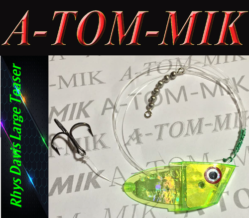 "Custom Rhys Davis Large Teaser ""Chart. Mountain Dew"" Rigged"