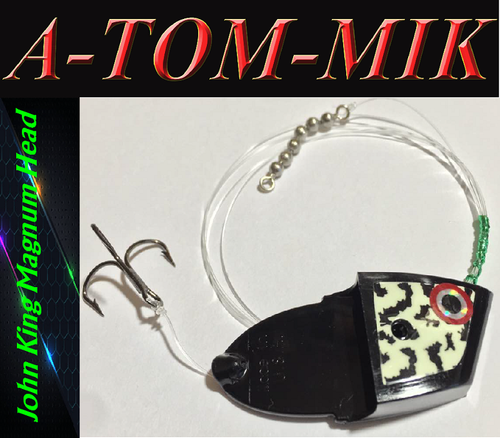 "Custom John King Magnum ""Black Glow Frog"" Rigged"