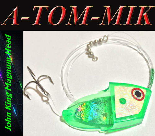 "Custom John King Magnum ""Green Glow"" Rigged"