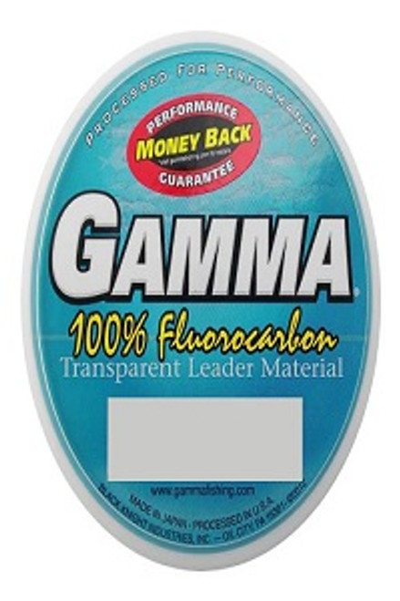 Gamma 100% Fluorocarbon 55 yds (Select for 16#-50#)