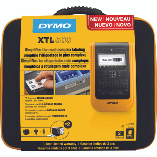 DYMO XTL 500 KIT INDUSTRAIL LABEL PRINTER