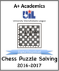 A+ Chess Puzzle Tests from 2016-17