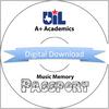Music Memory Passport (Digital Download)