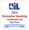 2014 Persuasive Speaking 1A Finals