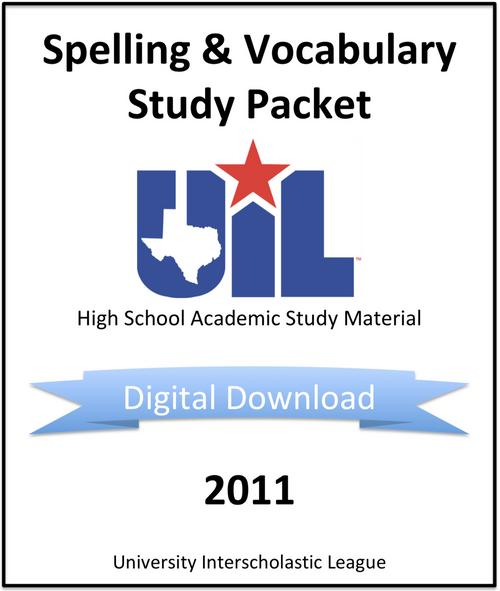 Spelling & Vocabulary 2011