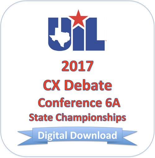 2017 CX Debate 6A Finals