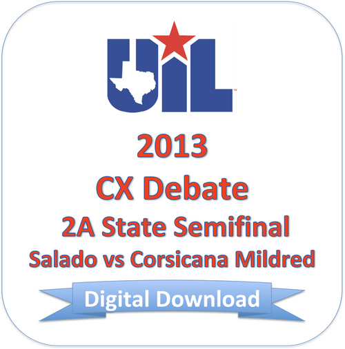 2013 CX Debate 2A Semifinal #2