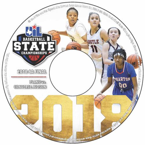 2018 6A Girls Basketball DVD