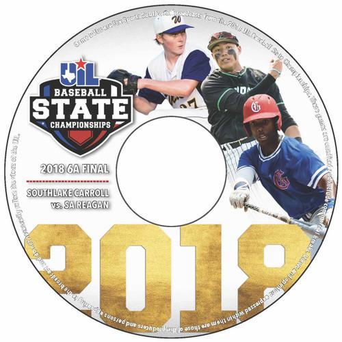 2018 6A Baseball DVD