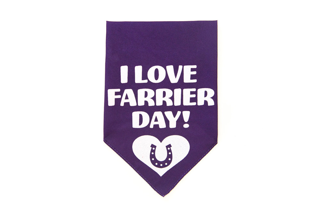 Farrier Day Bandana