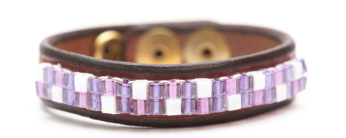 Purple Jewel Bracelet