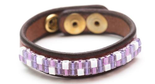 Purple Jewel Bracelet