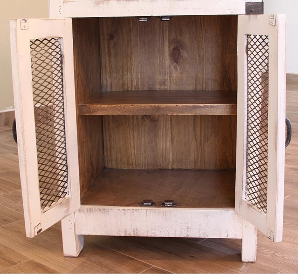 pueblo antique white kitchen island     pueblo antique white kitchen island   roy u0027s furniture  rh   shoproysfurniture com