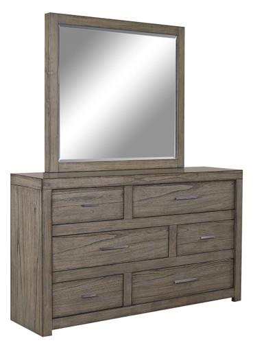 Modern Loft Asymmetrical Dresser