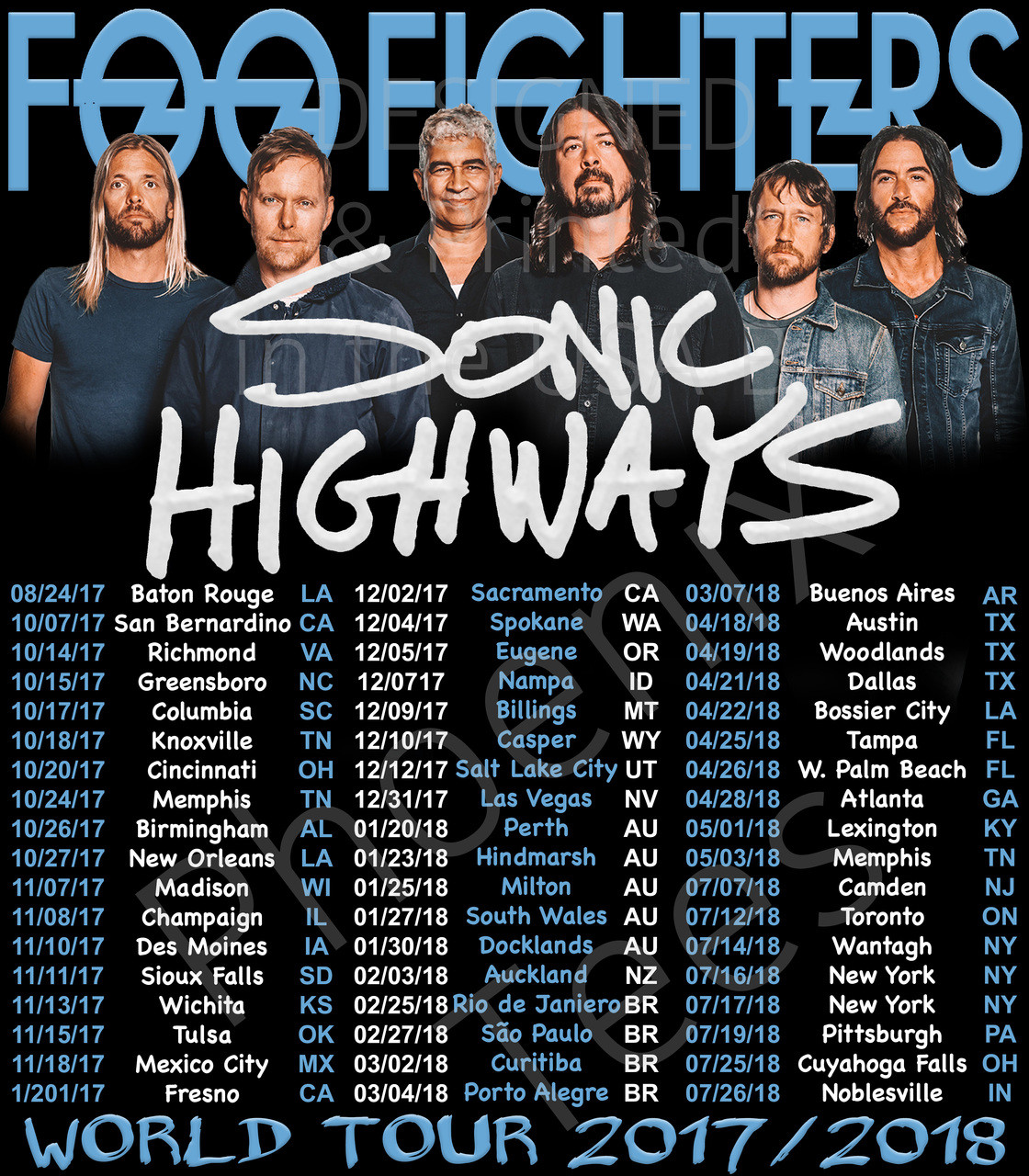 Foo Fighters Tour  Europe