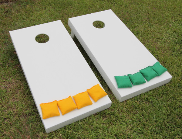 Standard Series Cornhole Boards - Painted White