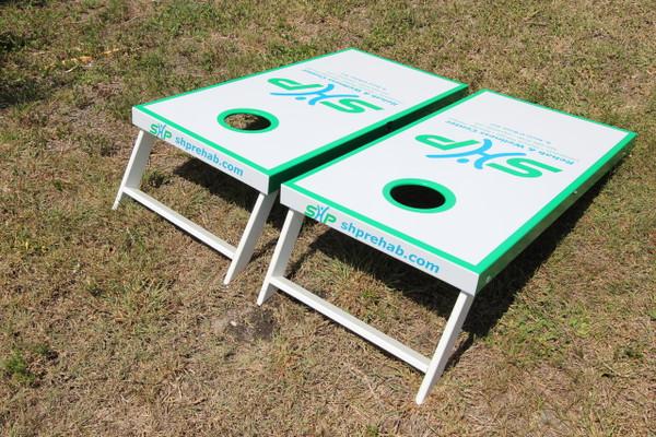 Lightweight and portable Slimline Cornhole Boards