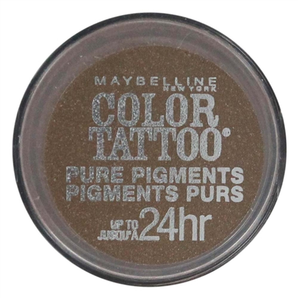 Maybelline Color Tattoo Pure Pigments - Downtown Brown 45