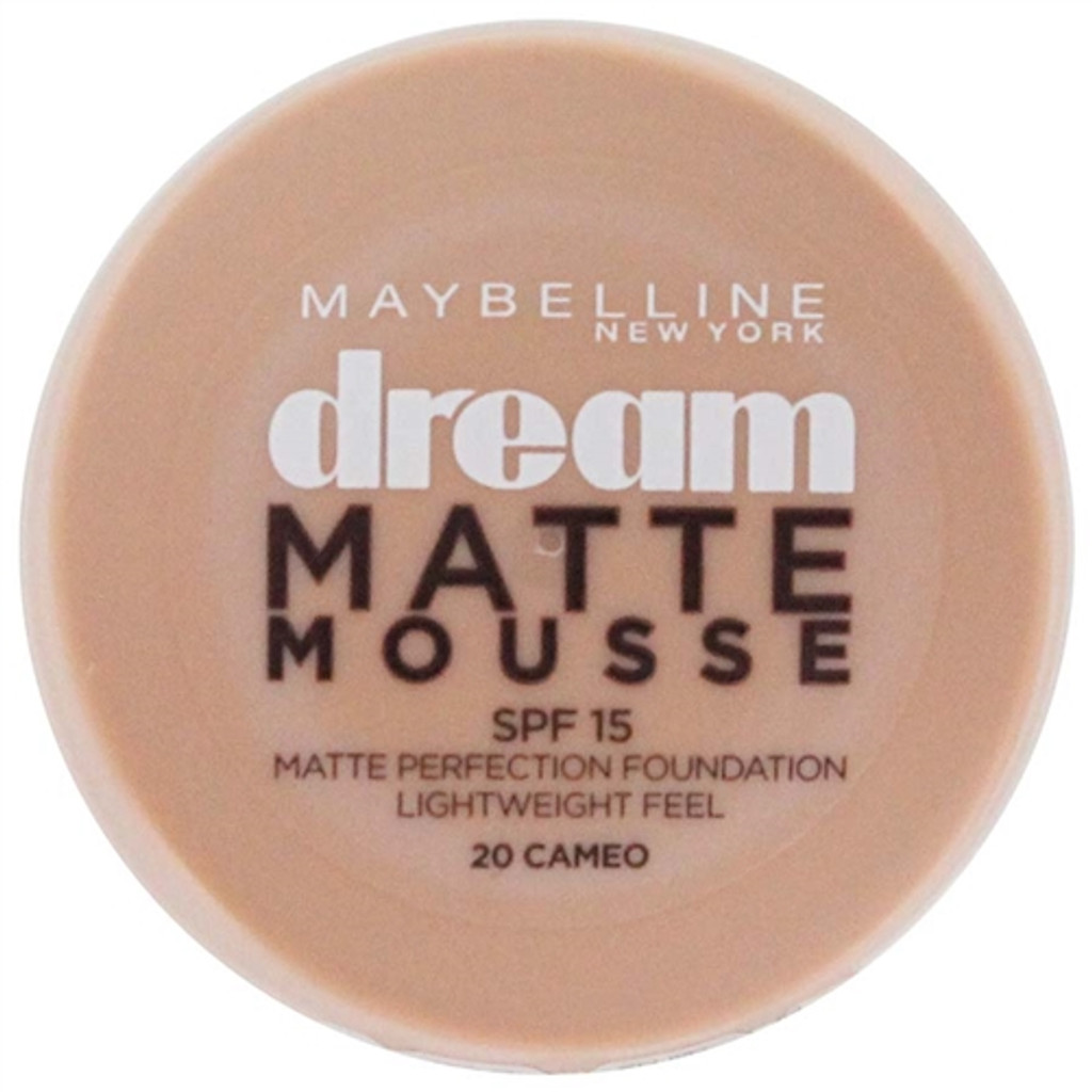 Maybelline Dream Matte Mousse Foundation - Cameo 20