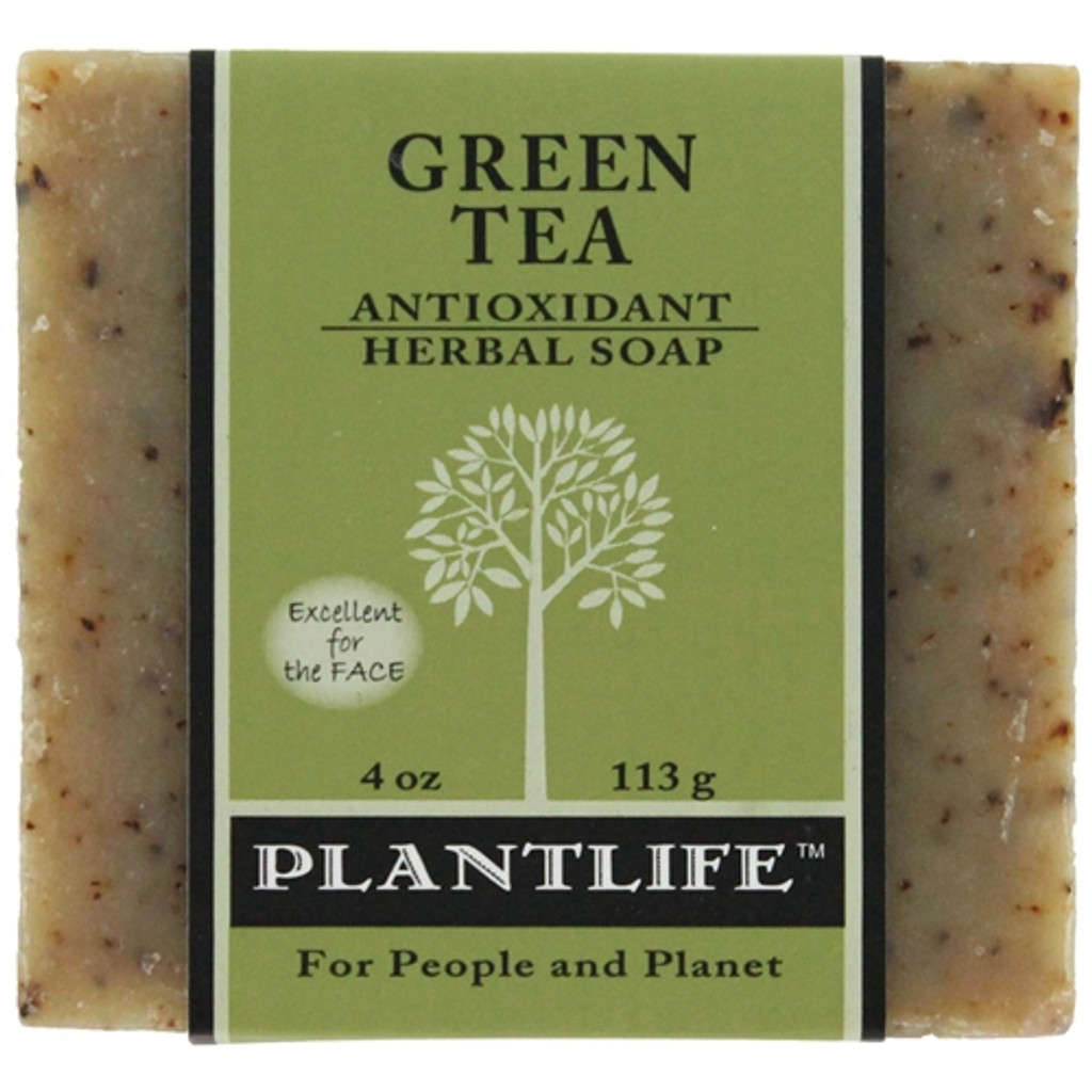 Plantlife Aromatherapy Herbal Soap - Green Tea