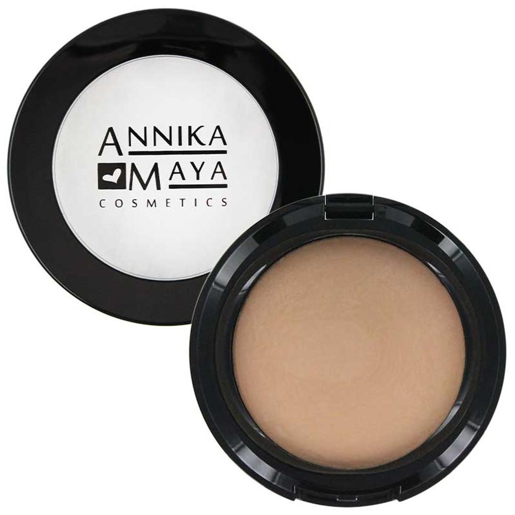 Annika Maya Baked Hydrating Powder Foundation - Deep