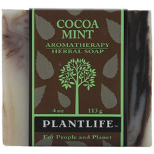 Plantlife Aromatherapy Herbal Soap - Cocoa Mint