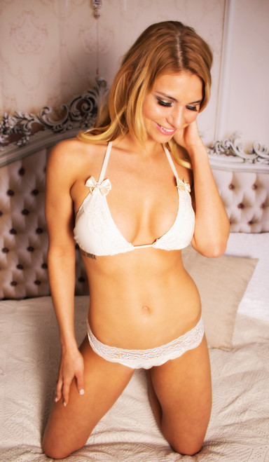The Felicity Bridal Bikini