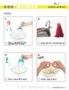 Pancakes  ( Aunt Jemima) Visual Recipe And Comprehension Sheets: Pages 23