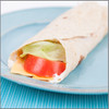 Meat Cheese Lettuce and Tomato Wrap Visual Recipe And Comprehension Sheets: Pages 22