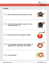 Spaghetti With Butter: Step Visual Recipes Pages 5