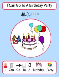 birthday party social story
